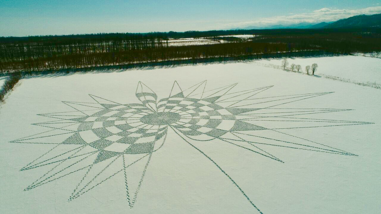広い大地、ふわふわのパウダースノー、冬の十勝晴れが織りなす絶景!
